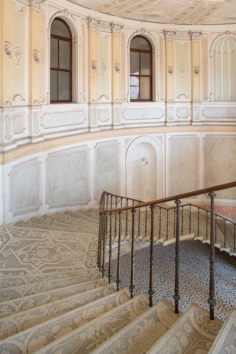 Villa Parco Bolasco - Scalone monumentale