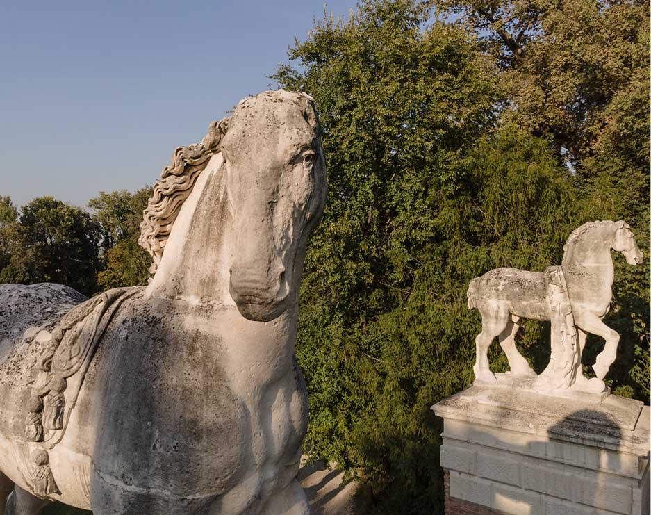 Villa Parco Bolasco - Destrieri