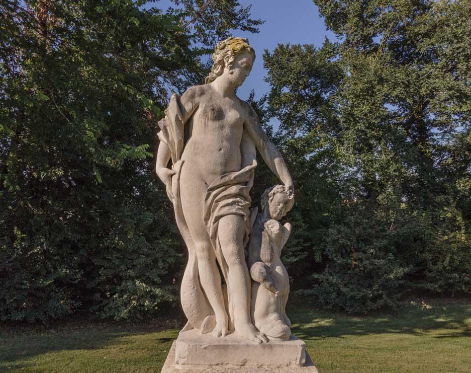 Villa Parco Bolasco - Venere e cupido