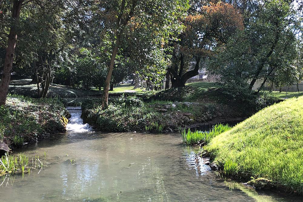 Corsi d'acqua Villa Parco Bolasco